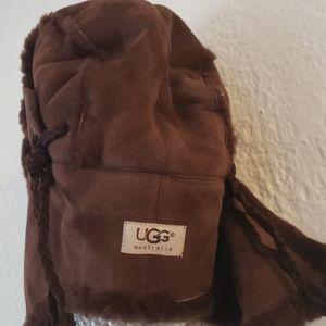 UGG Aviator Chocolate hat